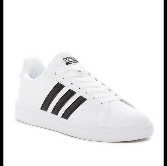 Adidas White & Black Classic Sneaker